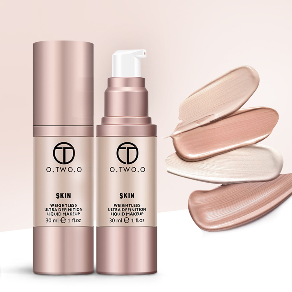 Waterproof Flawless Coverage Base Cosmetic Liquid Foundation Cream Makeup Primer