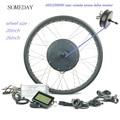 48V 1000W fat ebike Снежный велосипед  набор для преобразования электрического велосипеда  20 дюймов  26 дюймов  колесо заднего поворота  мотор-концен...
