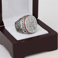 2012 Alabama Crimson Tide NCAA Football Championship Ring 10 13 Size With Cherry Wooden Case As