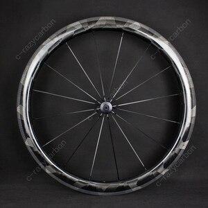 Image 2 - Ruedas de rayos X de carbono ultraligeras, cubiertas de 30mm 50mm/ruedas de carretera tubulares, súper ligeras, Llantas de Bicicleta de carretera, 2019
