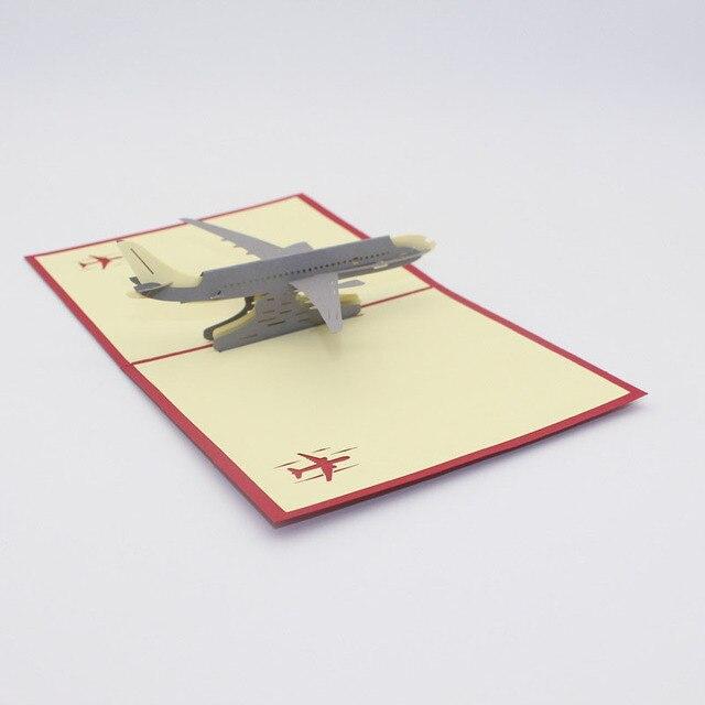 1pc hot 3d laser cut handmade carving aircraft plane model paper 1pc hot 3d laser cut handmade carving aircraft plane model paper greeting cards postcard adult kids m4hsunfo