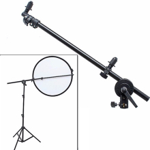 "Professional studio photograph holder staffa girevole testa riflettore supporto braccio 26 ""-69"""