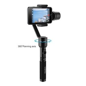 bilder für AIbird Uoplay 2 Mobile Filmausrüstung 3-achsen Brushless Griff Gimbal Stabilizer 360 Grad Panorama Dreharbeiten für SmartPhone