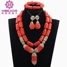 Rare Natural Coral Necklace Set