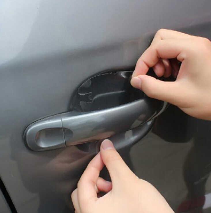 Araba kapı kolu çıkartmalar oto styling Sticker için honda insight nissan juke citroen berlingo volkswagen transporter t5 ford