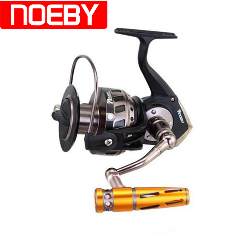 цена на NOEBY Spinning Fishing Reel 4.1:1 INFINITE 7000 9000 Reels Carp Fishing Reel Molinete Para Pesca Carretes De Pescar Feeder Coil