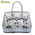 Sacos de mulheres messenger 2016 bolsas de luxo mulheres sacos de designer de marca famosa sacos eye bolsas de couro das mulheres sacos de ombro