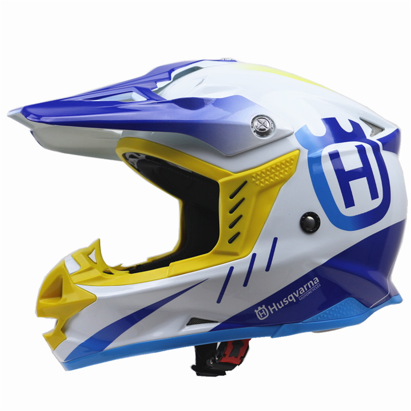 Casque de moto Husvarna ATV UTV Cross casque de vélo DOT ECE approuvé casque tout-terrain S, M, L, XL, XXL disponible