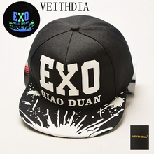 VEITHDIA 2017 new shade fashion luminous star with the hat TFBOYS EXO color light men and women hip-hop night light cap