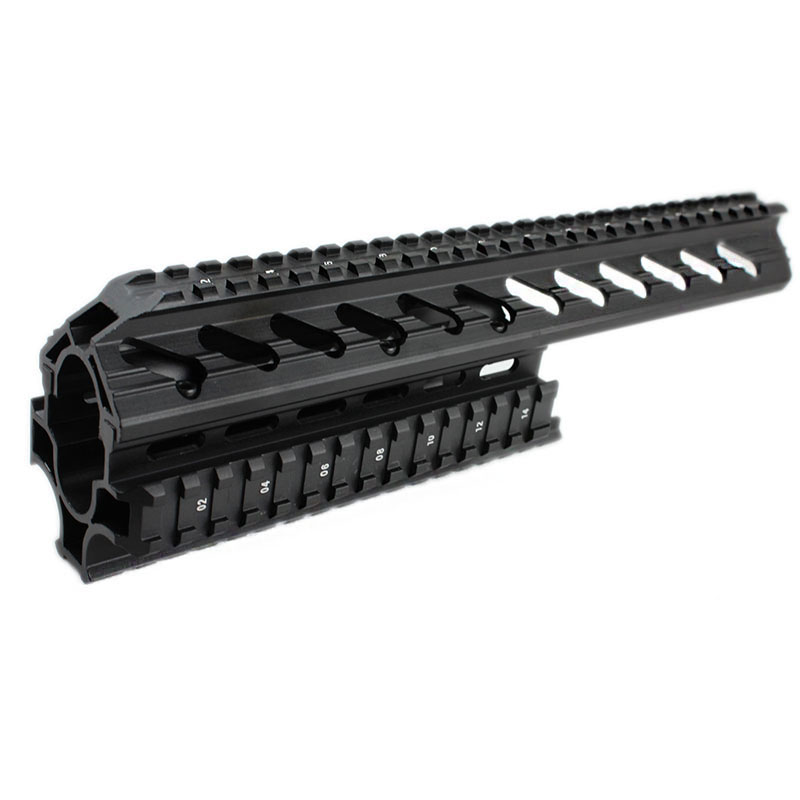 Funpowerland Galil Golani Tactical Quad Rail Picatinny System Scope Mount MNT TGL01 PRO Black