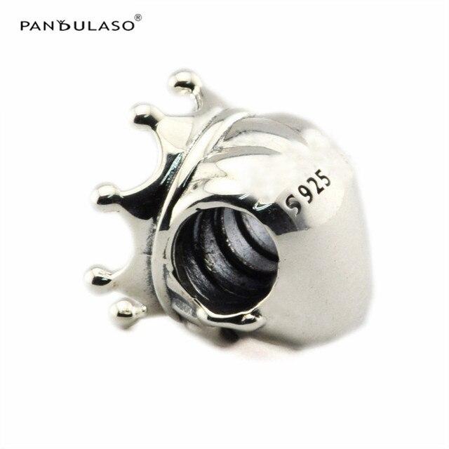 Pandulaso Preziosa Principe di Fascino Borda per Monili Che Fanno Fit Charms In Argento 925 Bracelet & Bangle Donna FAI DA TE Make Up