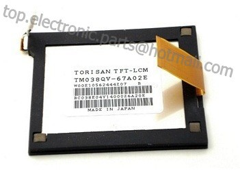 Original 3.8 inch TFT LCM for Intermec 750B 750A 750 LCD screen display panel with touch screen digitizer free shipping