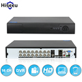 16ch stand alone dvr full hd h.264 vga hdmi gravador de vídeo p2p nuvem rs485 hiseeu áudio frete grátis
