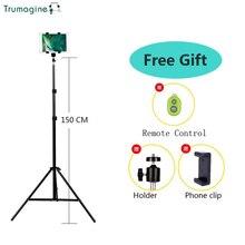 TRUMAGINE универсальный портативный алюминиевый штатив с подставкой для цифровой камеры для телефона iPhone с Bluetooth пультом дистанционного управления