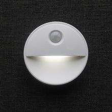 HobbyLane Round Shape Infrared Human Body Induction Lamp for Home Wall Cabinet Night Light