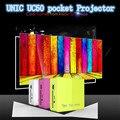 Batería incorporada UC50 actualización UC40 Mini DLP Pico Proyector Beamer Projektor proyector Multimedia de Cine En Casa HDMI Proyector 1080 P
