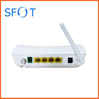 1 port GE + 3 ports FE +CATV +WIFI ONU SF8004FSCW, can work with HW/FH OLT, GPON or EPON for your choice