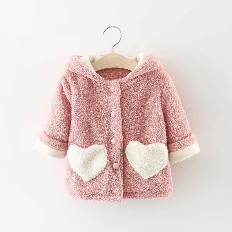 Baby meisjes lente herfst sweatershirt baby meisjes mode wollen trui peuter meisjes lovley kleding voor pasgeboren jas