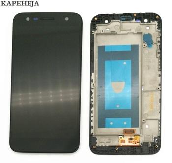 5 5 #8222 do wyświetlacza LCD LG X power 2 M320 montaż digitizera ekranu dotykowego z ramką Bezel tanie i dobre opinie KAPEHEJA NONE CN (pochodzenie) Pojemnościowy ekran 1280x720 3 For LG X power 2 M320 LCD i ekran dotykowy Digitizer 5 5