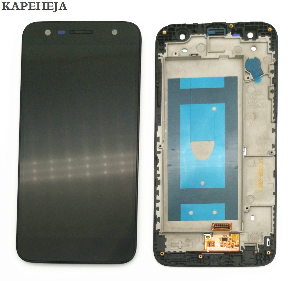 5.5For LG X power 2 M320 LCD Display Touch Screen Digitizer Assembly with Bezel Frame5.5For LG X power 2 M320 LCD Display Touch Screen Digitizer Assembly with Bezel Frame