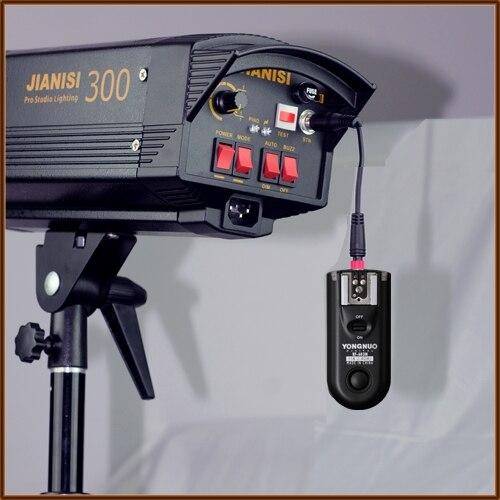 Светодиодная лампа для видеосъемки Yongnuo RF-603 C3, RF603 C3 РФ 603 вспышка триггера 2 трансиверы для CANON 7D 1D 1DS 5D 5D II 50D 40D 30D 20D 10D