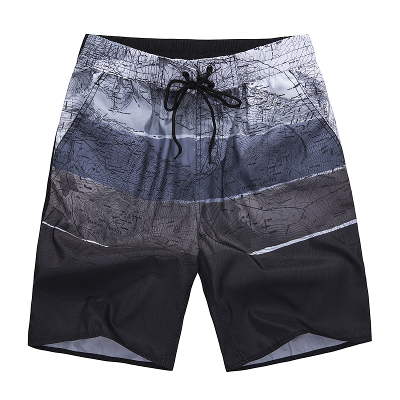 2019 New Board Shorts Men Fast Dry Air Beach Shorts SwimWear Polyester Summer Casual Outwear Short Pants Men Plus Size L-5XL