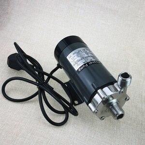Image 2 - 304 edelstahl kopf Magnetische Pumpe 15R, bier brauen pumpe, hohe Temperatur Wider 140C bier Magnetische Stick Pumpe Hause Brauen