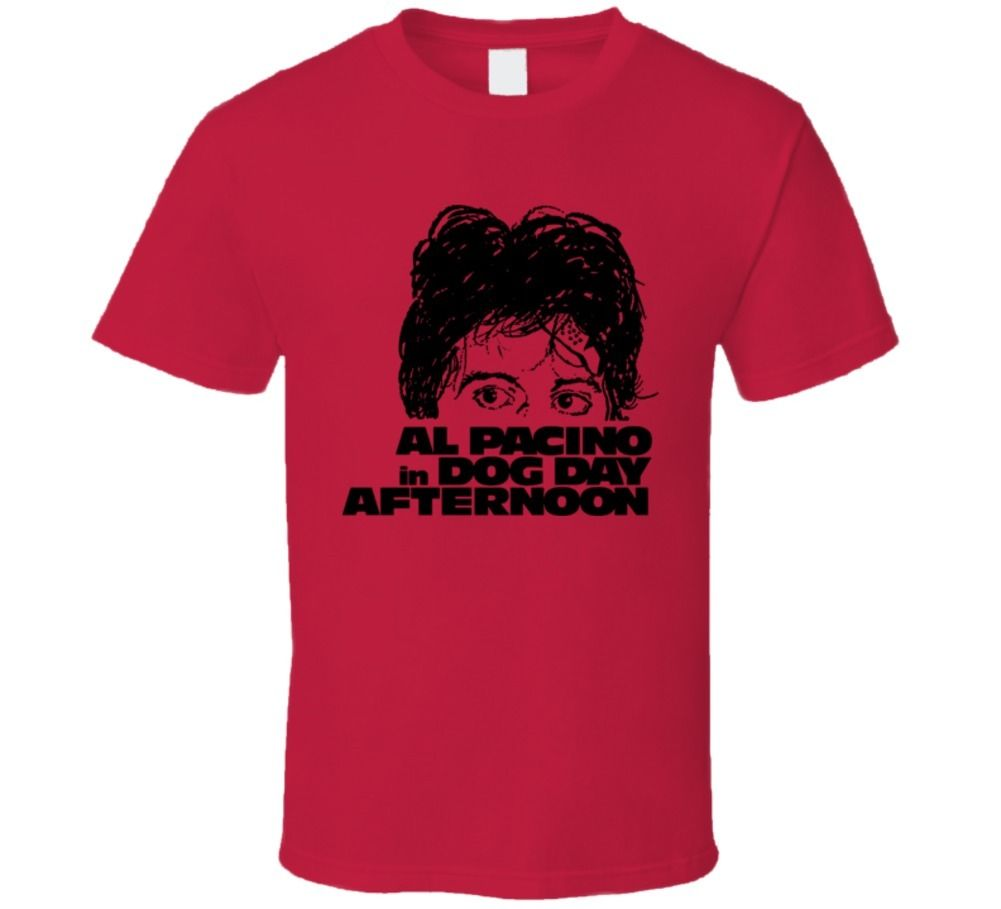 Dog Day Afternoon Pacino Cult Movie T Shirt