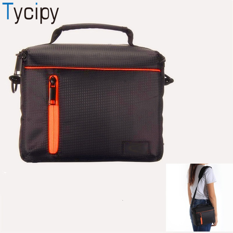 Tycipy Camera Bag Digital Photography Photo Video Shoulder Case Cover Handbags for DSLR Canon Sony Nikon Lens Battery Camcorder