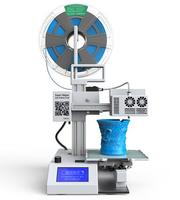 Super Helper SH155L Multi functional 3D Printer for Sales+Laser Engraving+Cutting Build Size:155*155*205mm