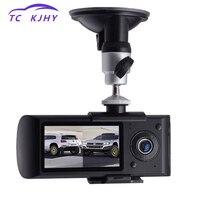 2018 Auto Dash Cam Car DVR Dual Lens 2.7 Inch GPS Camera 140 Degree Video Recorder Car DVR with GPS G Sensor Cam Corder Dissplay