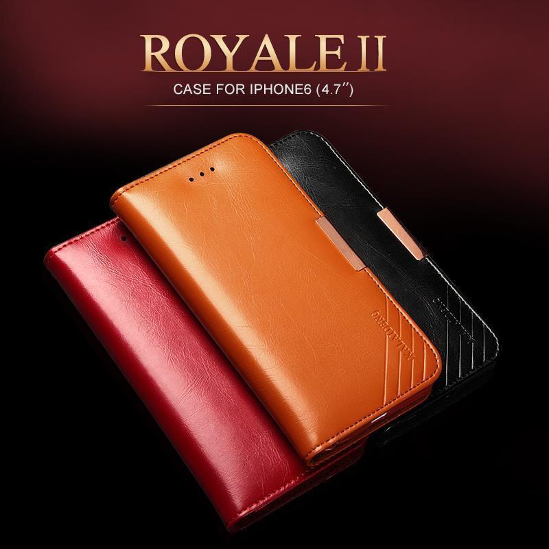 <font><b>Original</b></font> KALAIDENG ROYALE II Series Genuine Leather Case Wallet Flip Cover For Apple <font><b>iPhone</b></font> 6 <font><b>6s</b></font> Mobile <font><b>Phone</b></font> bags cases