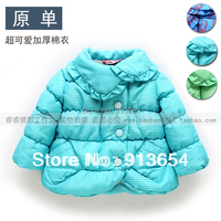 new 2015 autumn winter jacket baby clothing children outerwear girls wadded jacket warm baby outerwear fashion children's jacket