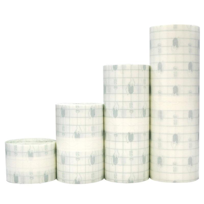 1 Roll Medical Adhesive Tape Bath Waterproof Transparent Anti-allergic Medicinal Pu Membrane Wound Dressing Fixation Tape