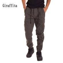 Giraffita Men Cotton Joggers Pants Casual Sweatpants Drawtring Sporting Trousers Man Running Pants Sportwear