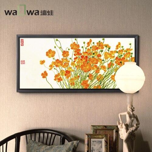 Autumn Sakura tree frog wall painting of modern minimalist painting painting frame painting studio living room decorative painti