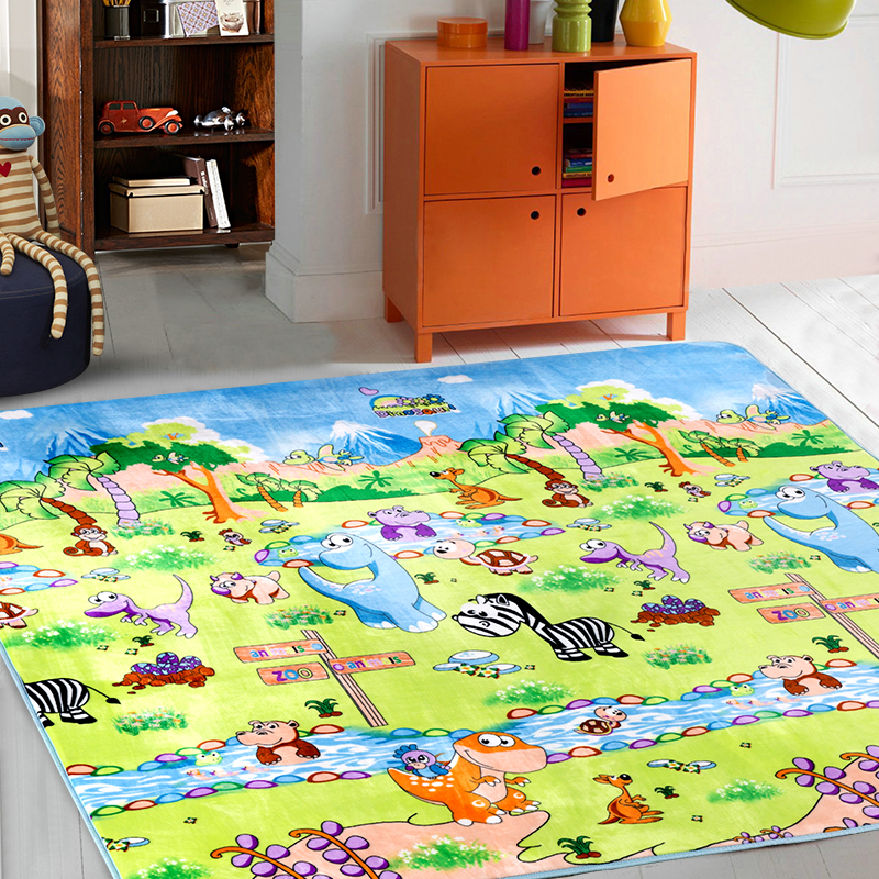 Kids floor rug rugs ideas for Mats for kids room