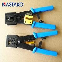 NASTAKO Networking Pliers EZ RJ45 RJ11 Crimping Cable Stripper Crimper RJ45 Pressing Line Clamp Pliers Network