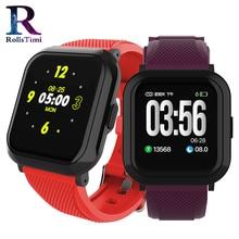 Women Smart Watch IP68 Waterproof Smartwatch Men Heart Rate Blood Pressure Wristband Fitness Tracker Sport Watch for IOS Android