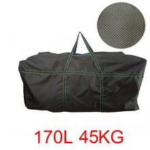 سعة كبيرة كاياك نفخ قارب من مادة كلوريد متعدد الفاينيل حزام حقيبة دائم قارب الصيد حقيبة التخزين للرياضة المائية بدن تحمل حقيبة