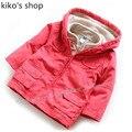 2 unids Otoño E Invierno bebé caliente chaleco + chaqueta de cremallera roja muchachos y muchachas de la Venta Caliente Marca de Ropa de Primavera Envío Libre