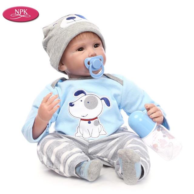 NPK 22 55cm Reborn Baby Doll Cloth For Sale High End
