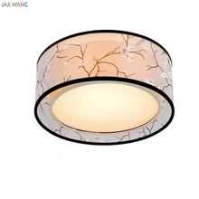 Jax Tuch Led Deckenleuchte Atmosphre Stoff Eisen Lampenschirm Moderne Wohnzimmer Schlafzimmer Nordic Schlafzimm