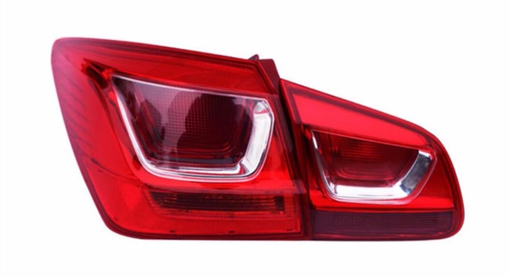 eOsuns OEM tail light assembly rear lamp brake light for chevrolet cruze 2015, 4pcs
