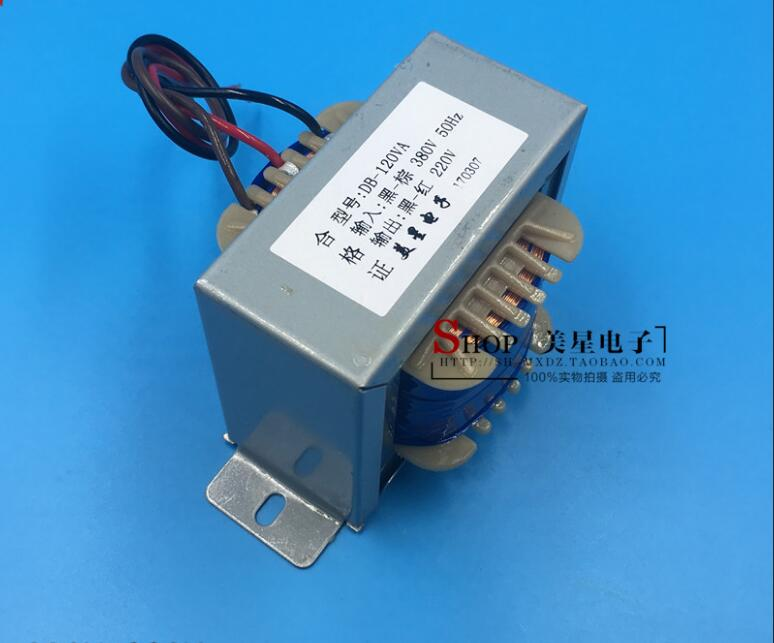 220V 0.45A Transformer 120VA 380V input Transformer power supply transformer isolation Automatic transformer недорго, оригинальная цена