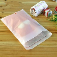 Retail Milk White Plastic Self Adhesive Seal Bag Household Package Bag Socks Underwear Clothing Selfadhesive Packaging