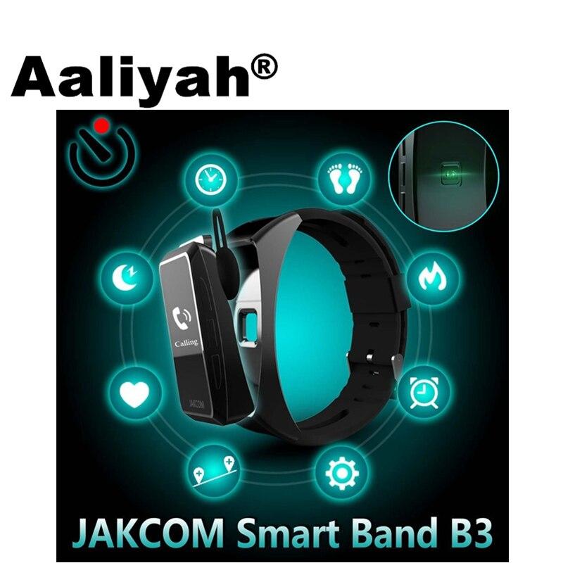 imágenes para [Aaliyah] B3 Inteligente Pulseras Band Bluetooth Dormir Presión Arterial Heart Rate Monitor de Fitness Rastreador de Pulsera Para iOS Android