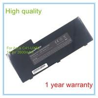 4 Cell For C41 UX50 Battery POAC001 UX50 UX50V Laptop Battery 2600mAh