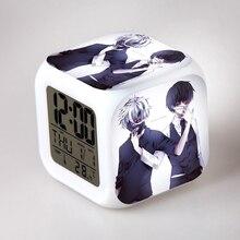 Tokyo Ghoul Kaneki Ken 7 Color Change Glowing Digital Alarm Clock Japanese Anime 140086
