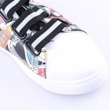 2018 Fashion Unisex Men Shoes Graffiti Printing Vulcanized Shoe Students White Shoes Spring Autumn Casual Masculino Adult Shoe